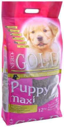 Сухой корм для щенков NERO GOLD Puppy Maxi, для крупных пород, курица и рис, 18кг