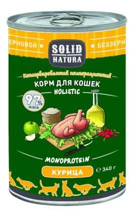 Консервы для кошек SOLID NATURA Holistic, курица, 12шт, 340г