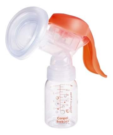 Молокоотсос Canpol babies EasyStart поршневой белый/ прозрачный (12/203)