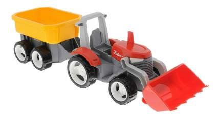 Трактор MultiGo с прицепом и сменным кузовом