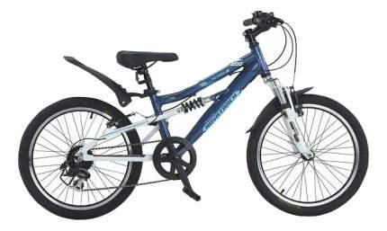 Велосипед Novatrack action js200 темно синий 20