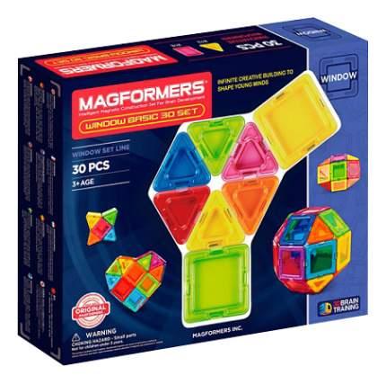 Конструктор Magformers магнитный Window Basic 30 деталей