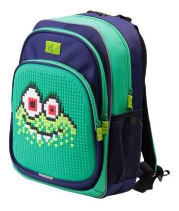 Рюкзак 4All зеленый-синий