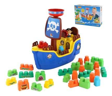 Конструктор для малышей Полесье Пиратский корабль
