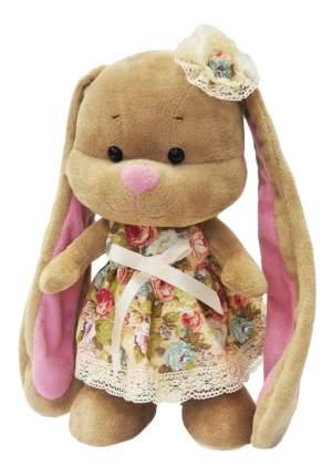 Мягкая игрушка Jack&Lin Зайка Лин в Летнем Платье с Цветочком на Голове, 25 см