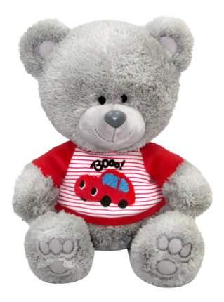 Мягкая игрушка LAVA Медвежонок Ники в футболке 21,5 см Друг такой мне очень нужен