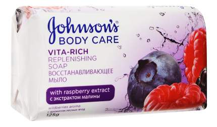 Косметическое мыло Johnson`s с экстрактом малины c ароматом лесных ягод 125 г