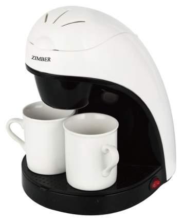 Кофеварка капельного типа Zimber 10981 Белый, черный