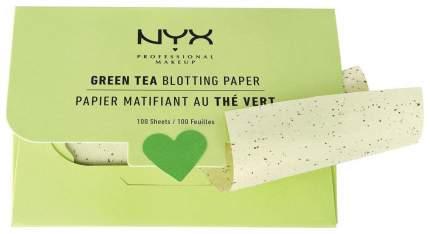 Матирующие салфетки NYX Professional Makeup Green Tea Blotting Paper 100 шт