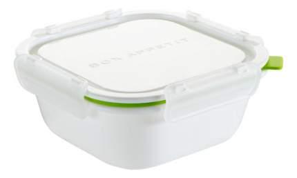 """Ланч-бокс Black+Blum BOX APPETIT """"SQUARE LARGE"""" BAP-SQ-L001, бело-зеленый"""