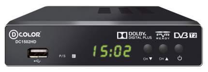 DVB-T2 приставка D-Color DC1502HD Black