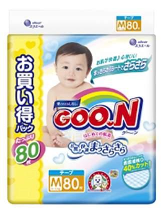 Подгузники Goo.N Ultra Jumbo Pack M (6 до 11 кг), 80 шт.