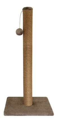 Когтеточка Гамма 76х36х36см №12 длинная с игрушкой (цветной мех) для кошек