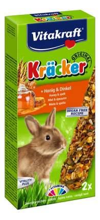 Лакомство для грызунов Vitakraft Крекеры медовые для кроликов, 2 шт, 145г