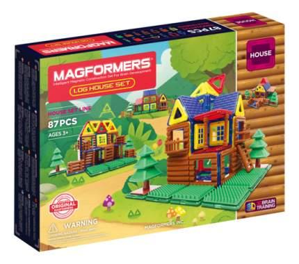 Конструктор магнитный Magformers Log House Set