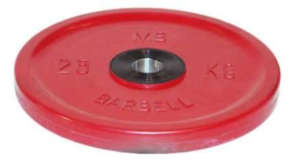 Диск для штанги олимпийский MB Barbell Евро-Классик 25 кг, 51 мм