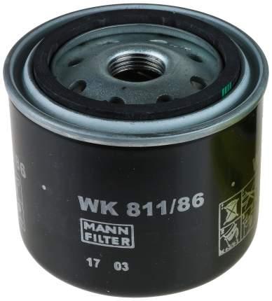 Фильтр топливный MANN-FILTER WK811/86