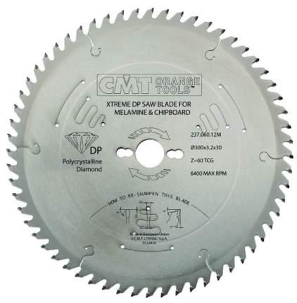 Пильный диск 350x30x3.5/2.4 15° 45° TCG Z=72 (DIA) CMT 237.072.14M