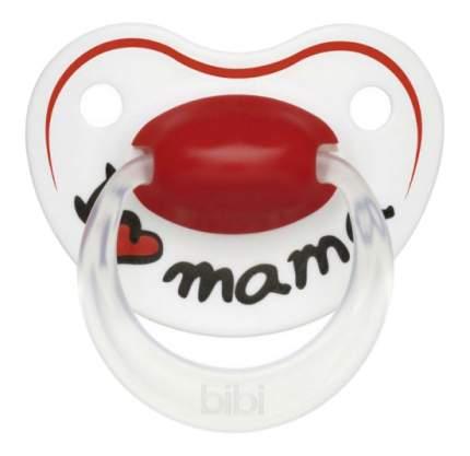 Силиконовая пустышка ортодонтическая bibi Premium Dental Happiness Mama 0-6 мес