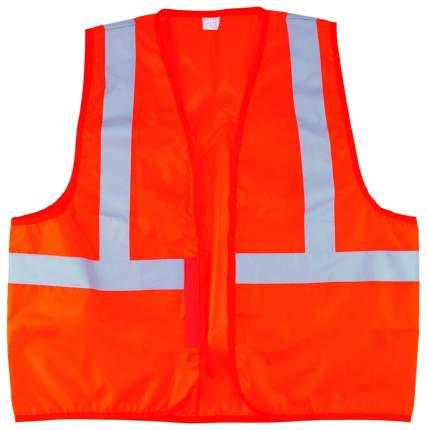 Светоотражающий жилет Сибртех оранжевый, серый 89513