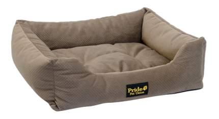 Лежанка для кошек и собак PRIDE 50x60x18см коричневый
