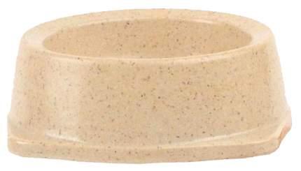 Одинарная миска для кошек и собак Triol, пластик, бежевый, 0.15 л