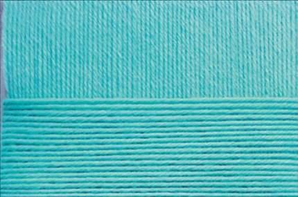 Пряжа для вязания Пехорка Элегантная 10 шт. по 100 г 250 м цвет 095 океан