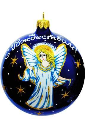 Шар на ель Елочка Ангел Рождества 95 мм