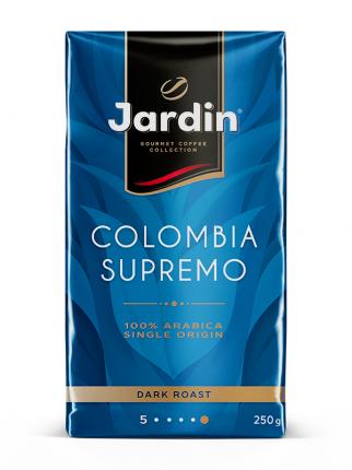 Кофе молотый Jardin Colombia supremo 250 г