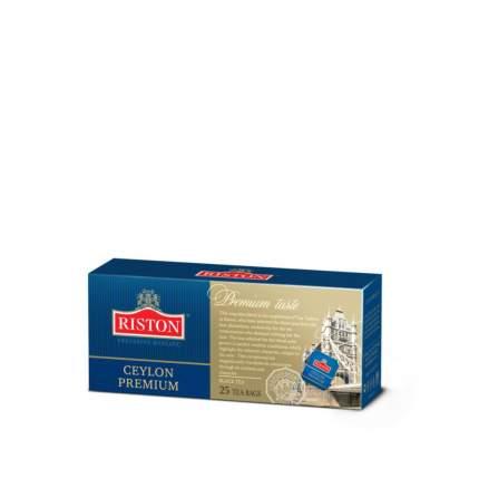 Чай черный Riston сeylon зremium 25 пакетиков