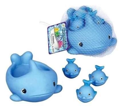 Игрушка для купания Shantou Gepai Киты 4 шт.