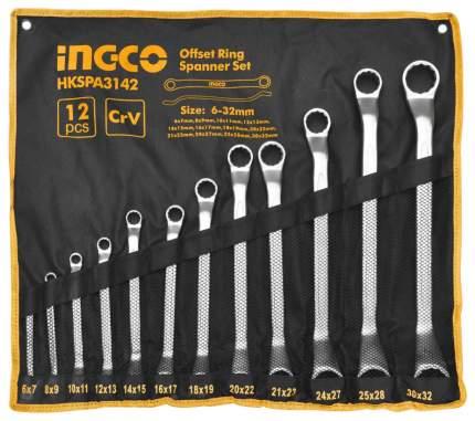 Набор накидных ключей INGCO HKSPA3142