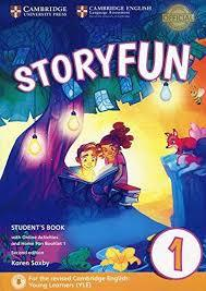 Storyfun for Starters, Movers and Flyers 2Ed Starters 1 SB + Online+ Home Fun booklet
