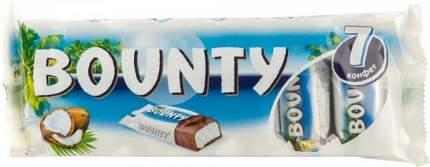 Шоколадный батончик Bounty 193 г 7 штук