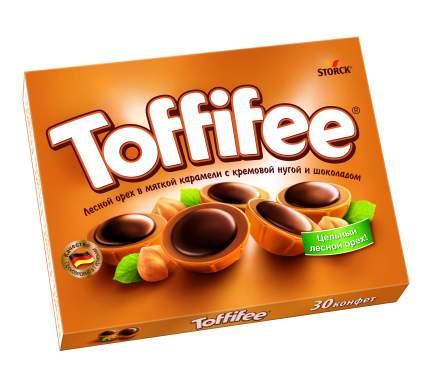 Конфеты Toffifee лесной орех в мягкой карамели с кремовой нугой и шоколадом 250 г