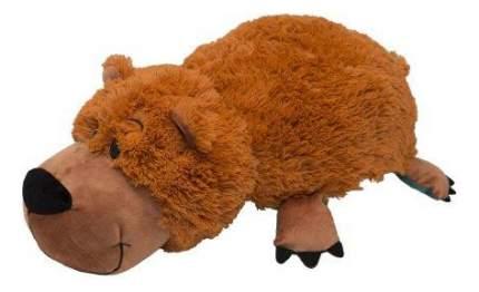 Мягкая игрушка 1 TOY Вывернушка Медведь Гризли и Аллигатор 20 см