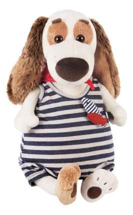 Мягкая игрушка BUDI BASA Собака Бартоломей в комбинезоне в полоску Басик и компания 27 см
