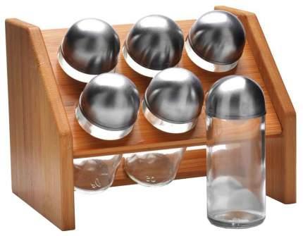 Набор для специй Bekker MB-27351 Серебристый, прозрачный, коричневый