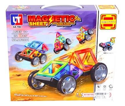 Магнитный 3D-конструктор Ралли 32 дет. Shantou Gepai LT3001