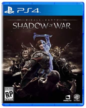 Игра для PlayStation 4 Warner Bros. Interactive Entertainment Средиземье: Тени Войны