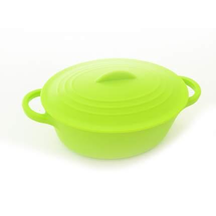 Кастрюля для запекания Fissman 7318 Зеленый