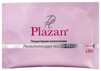 Маска для лица Plazan плацентарная коллагеновая увлажняющая 45+, 1 шт