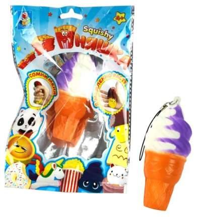 Игрушка-антистресс 1Toy М-м-мняшка Squishy Мини-мороженое рожок Т12407
