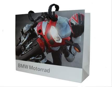 Малый бумажный подарочный пакет BMW Motorrad Paper Bag Small, артикул 81800417904