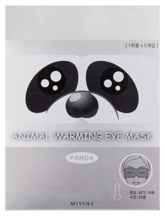 Маска для глаз Missha Animal Warming Eye Mask Panda (Аромат лаванды) 20 гр