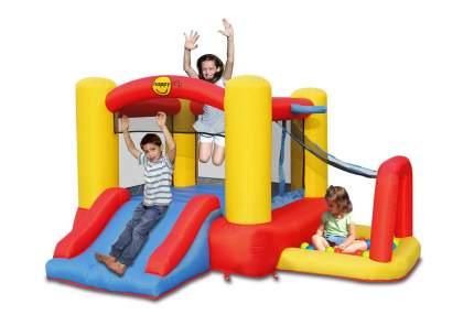 Батут HappyHop Игровой центр 4 в 1 256 см 9450