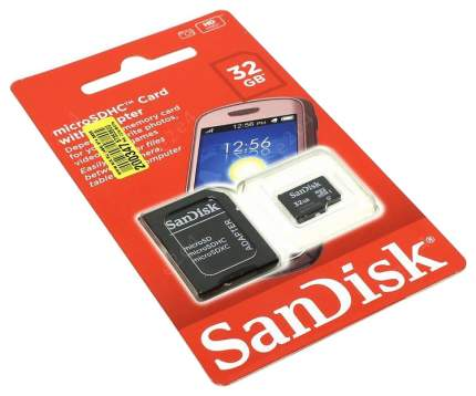 Карта памяти SanDisk Mobile Micro SDHC SDSDQM-032G-B35A 32GB