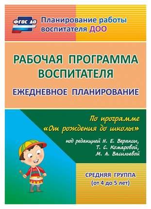 Рабочая программа Воспитателя: Ежедневное планирование по программе От Рождения до Школы