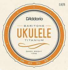 Струны для укулеле баритонD ADDARIO EJ87 B