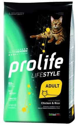 Сухой корм для кошек Prolife Lifestyle Adult, курица и рис, 1,5кг